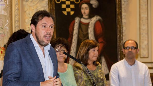 El portavoz socialista, Óscar Puente