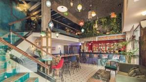 Comedor del restaurante Surya, en el centro de Madrid