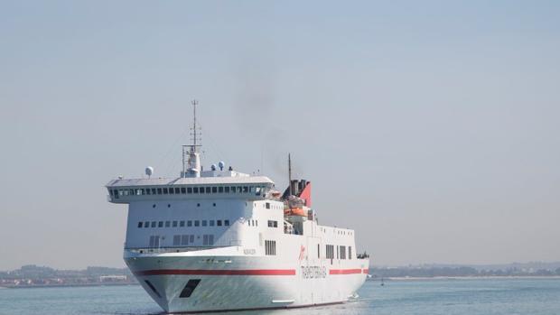 Albayzin, el buque afectado por la avería