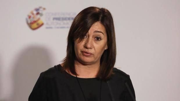 Fotografía de archivo de la presidenta de Baleares, Francina Armengol
