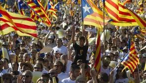 Imagen de la Diada del año pasado en Barcelona