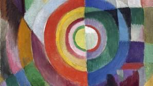 Obra expuesta en la muestra Sonia Delaunay-Terk. Arte, diseño y moda