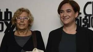 Carmena ampara otro acto a favor de la independencia de Cataluña en un edificio municipal