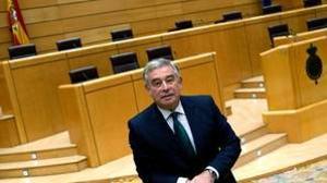 El portavoz del PP en el Senado, José Manuel Barreiro