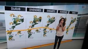 Imagen del informativo de TV3 emitido este martes a mediodía