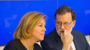 El Presidente del Gobierno, Mariano Rajoy, preside la Junta Directiva Nacional del PP