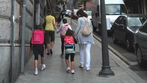 La «vuelta al cole» costará entre 350 y 500 euros por alumno a las familias vascas