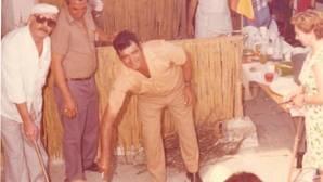 Imagen del concurso de Paella Valenciana de Sueca en 1976