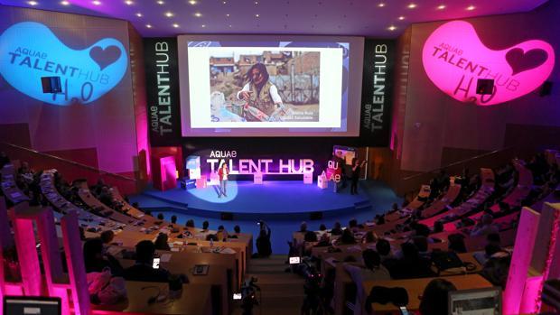 Una edición anterior del Aqua Talent Hub