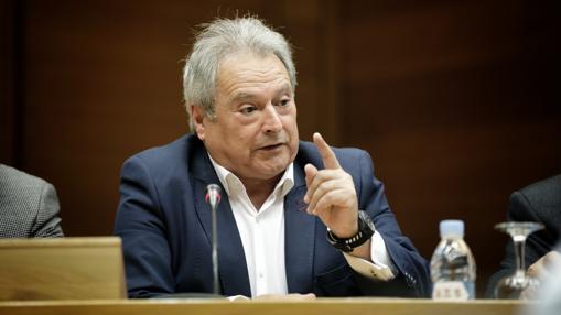 Alfonso Rus, durante la comisión de investigación en las Cortes sobre la adjudicación de residencias