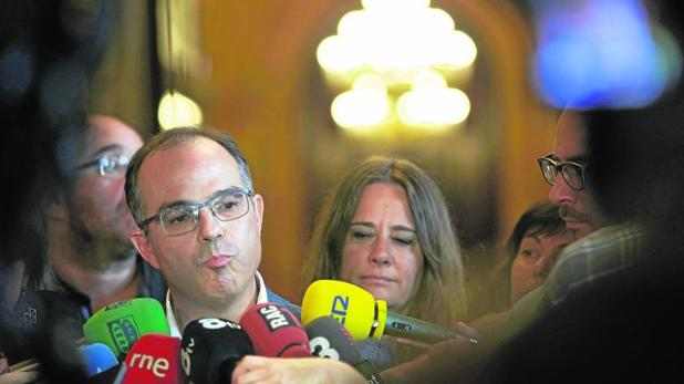 El conseller de Presidencia, Jordi Turull