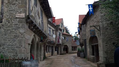 Recreación de una aldea medieval