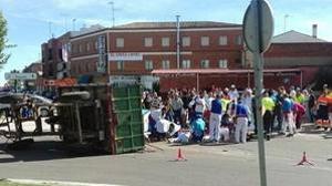 Suspendidas las fiestas de Tordesillas hasta el sepelio de esta tarde