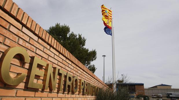 Exterior de la cárcel de Zuera, en Zaragoza