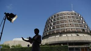 Imagen de la sede del Tribunal Constitucional