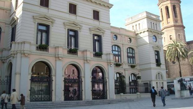 Fachada del ayuntamiento de Sabadell, en una imagen de archivo