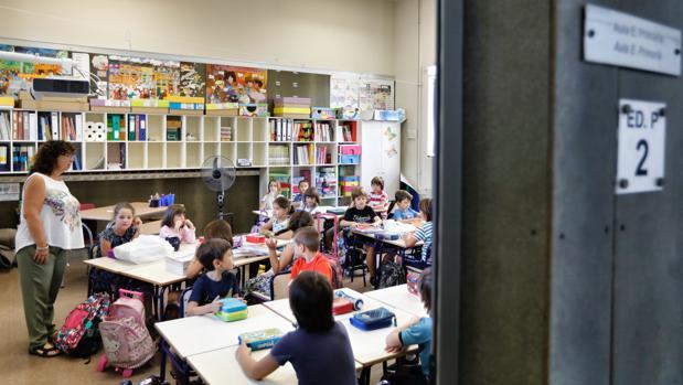 Imagen del inicio del curso escolar en Valencia