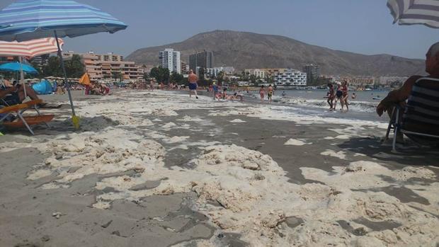 Playa de Los Cristianos, Tenerife, el pasado mes de agosto