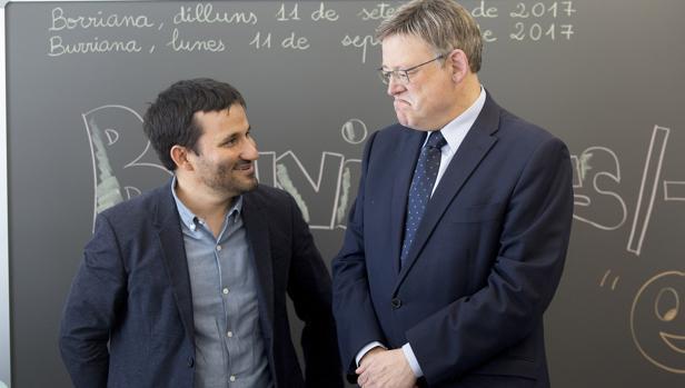 Imagen de Puig y Marzà tomada este lunes