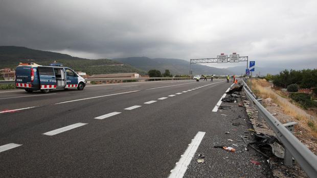 Imagen de archivo de un accidente en Tarragona