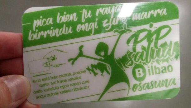 El Ayuntamiento de Bilbao retira la polémica campaña del «Pica bien tu raya»