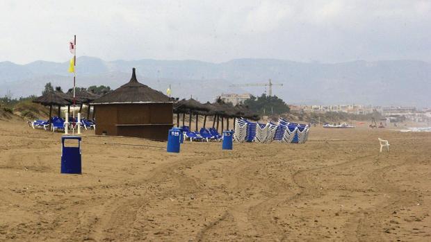 Imagen de archivo de la playa de Oliva de Valencia