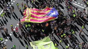 El independentismo pierde 800.000 manifestantes desde 2014