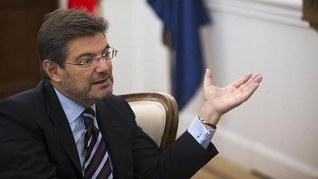 El ministro de Justicia, Rafael Catalá, en una imagen de archivo