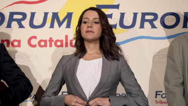 Inés Arrimadas, líder de Cs