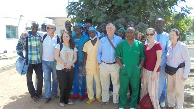 Cirujanos en Acción en Senegal el pasado mes de diciembre