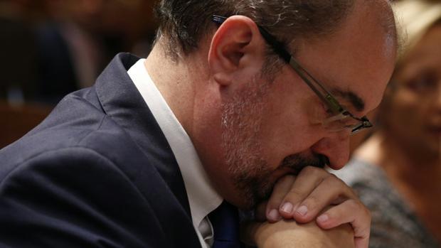 Javier Lambán (PSOE), presidente del Gobierno de Aragón