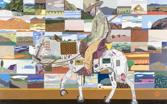 «El retorno de las cruzadas», de Eduardo Arroyo