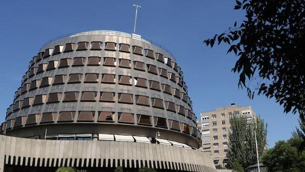 El edificio del Tribunal Constitucional