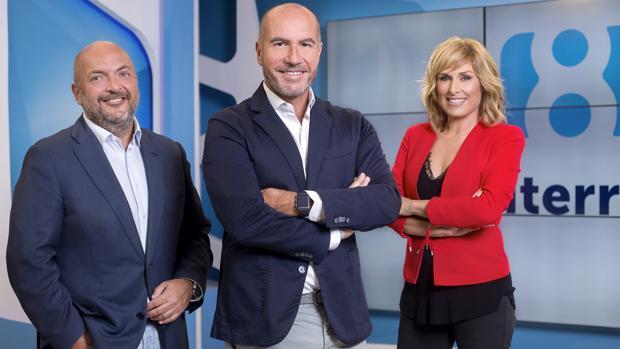 Nacho Cotino, Luis Motes y Carme Bort