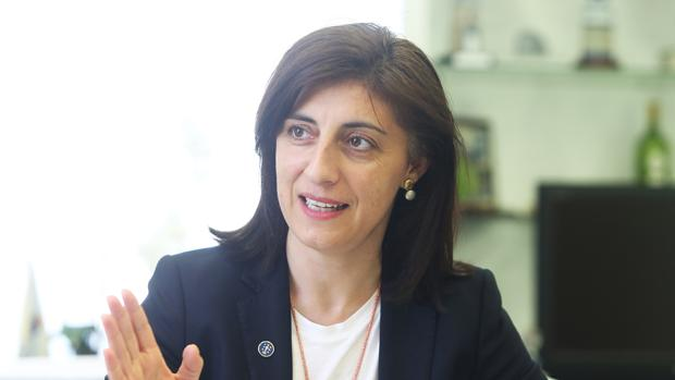 La conselleira de Medio Rural, Ángeles Vázquez