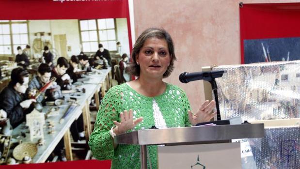 María Ángeles Garcia, vicepresidenta del Área de Educación, Cultura, Turismo y Deportes