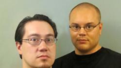 Ricard AR Nilson y Pierre Danilo, en el blog que compartían