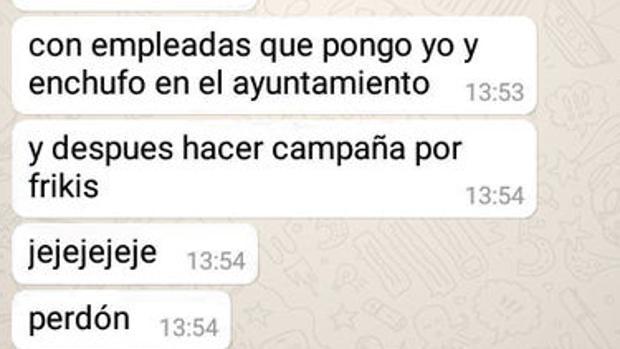 Un concejal de La Laguna (Tenerife) publica por error mensajes machistas en un chat del PSOE