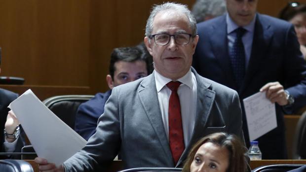 Fernando Gimeno, consejero de Hacienda del Gobierno aragonés