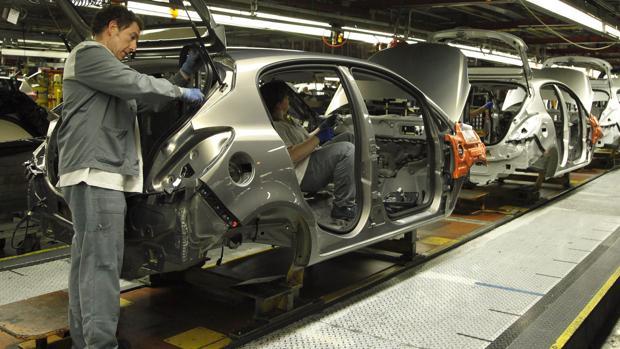 La factoría de Opel en Figueruelas, pilar de la industria automovilística aragonesa