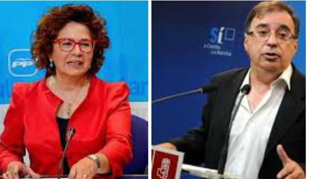 Carmen Riolobos y Fernando Mora