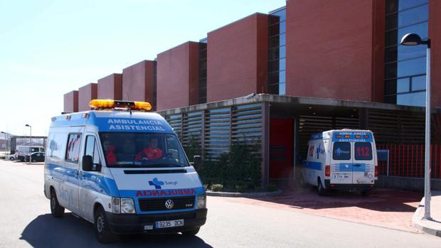 El herido ha sido trasladado al Hospital Río Hortega de Valladolid
