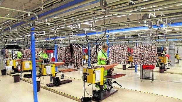 Factoría de Inditex en Arteixo