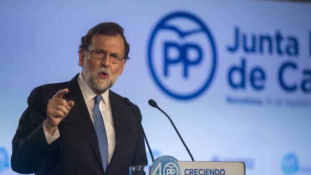Mariano Rajoy ha presidido este viernes la Junta Directiva del PP de Cataluña