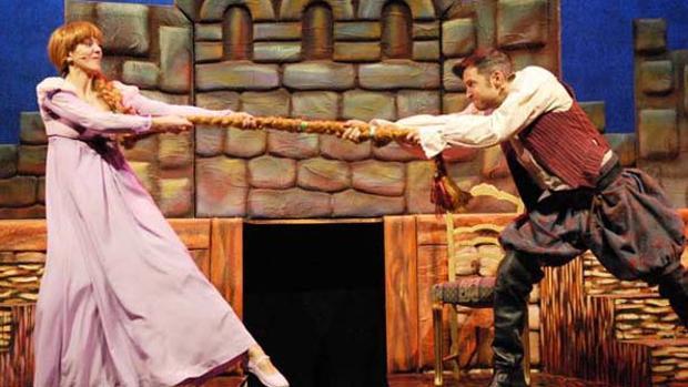 Fragmento de la obra teatral Rapunzel