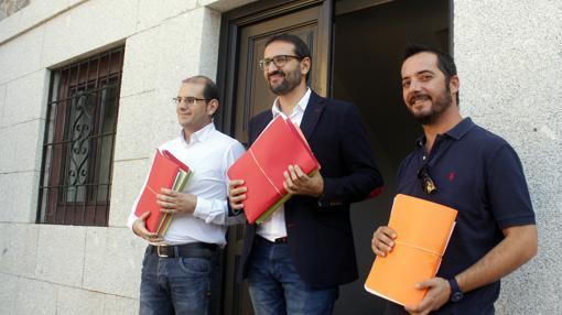 Sergio Gutiérrez, con los avales de Emiliano García-Page