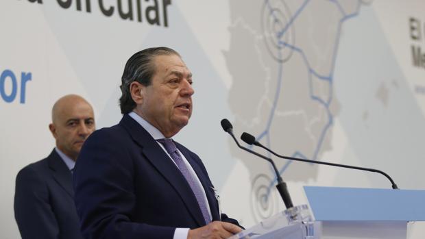 Imagen del presidente de AVE, Vicente Boluda