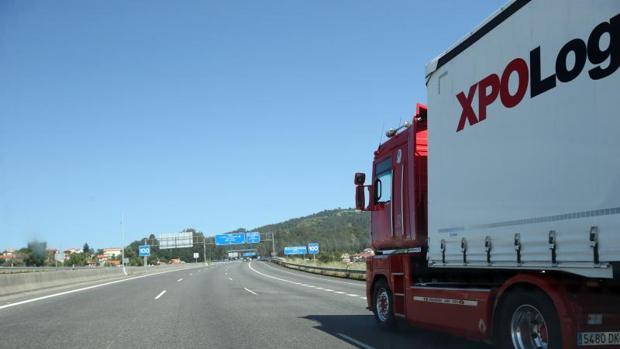 La Autopista del Atlántico a su paso por Santiago de Compostela