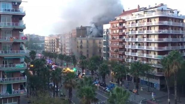 La explosión ha dejado siete heridos, uno de ellos de gravedad