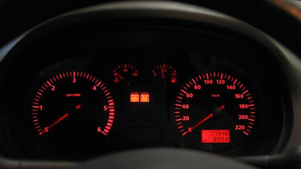 Imagen de archivo de un cuentakilómetros